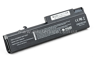 Аккумулятор PowerPlant для ноутбуков HP EliteBook 6930p (HSTNN-UB68, H6735LH) 10,8V 5200mAh (NB00000054)