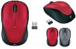 Мышь Logitech M235 WL Red (910-002496)