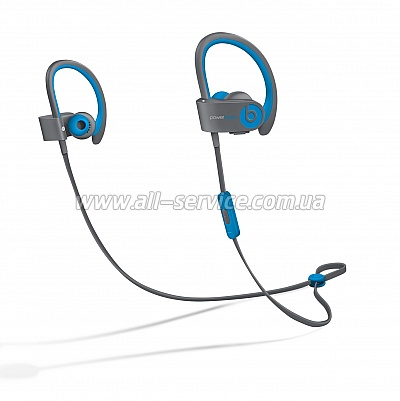 Наушники Beats Powerbeats 2 Flash Blue (MKQ02ZM/A)