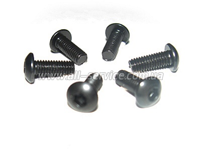 3*8 Button Head Screws 6P