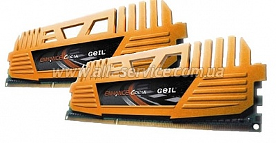 Память DDR3 4Gb PC12800/1600 (2x2GB) Geil Enhance Corsa (GEC34GB1600C9DC)