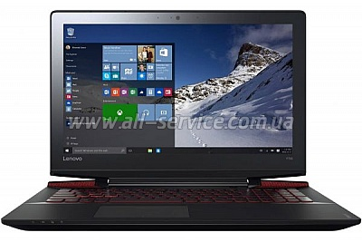 Ноутбук LENOVO IdeaPad Y700-15 Black (80NV00WKR)