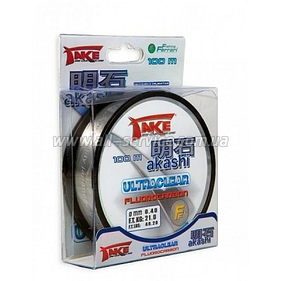 Леска Lineaeffe Take AKASHI Fluorocarbon  50м. 0.18мм  FishTest 6.00кг  Made in Japan (3042118)