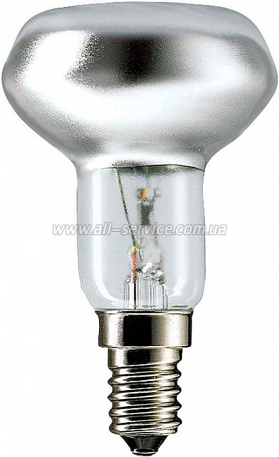 Лампа накаливания Philips E14 40W 230V NR50 30D 1CT/30 Refl (923338544203)
