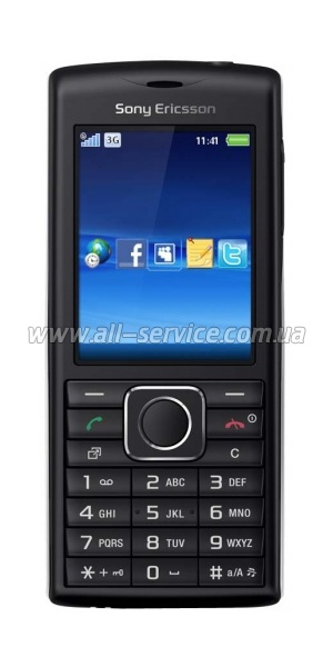 Мобильный телефон SONY ERICSSON J108i Cedar (black red)