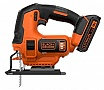 Электролобзик BLACK&DECKER BDCJS18 Li-Ion 18V
