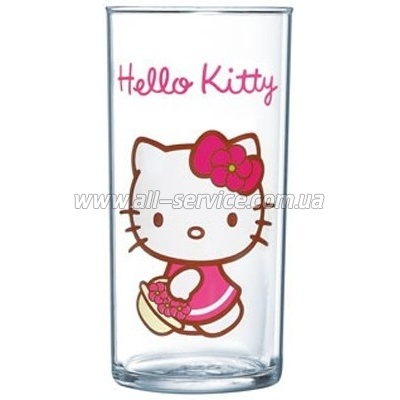 Стакан Luminarc HELLO KITTY sweet pink (H5481)