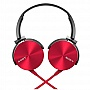 Наушники Sony eXtra Bass MDR-XB450AP Red (MDRXB450APR.E)