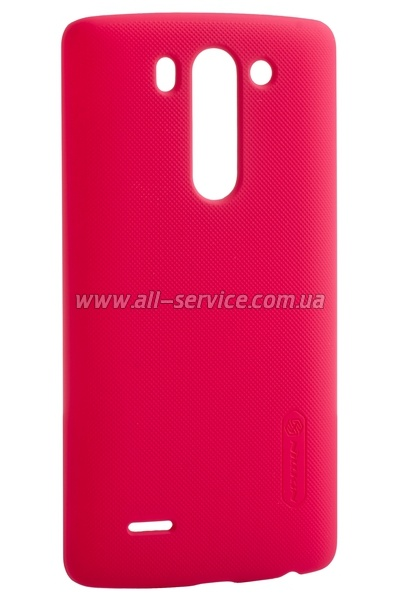 Чехол NILLKIN LG Optimus G3S (Beat) - Super Frosted Shield (Red)