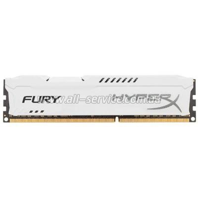 Память 8Gb Kingston DDR3 1866MHz HyperX Fury White (HX318C10FW/8)