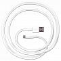 Кабель JUST Freedom Lightning USB (MFI) Cable White (LGTNG-FRDM-WHT)