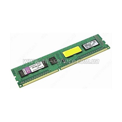 Память 4Gb Kingston ValueRAM DDR3, PC12800 1600MHz CL11 (KVR16N11S8/4)