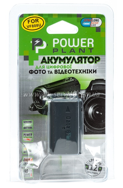 Аккумулятор PowerPlant JVC BN-VF808 (DV00DV1196)
