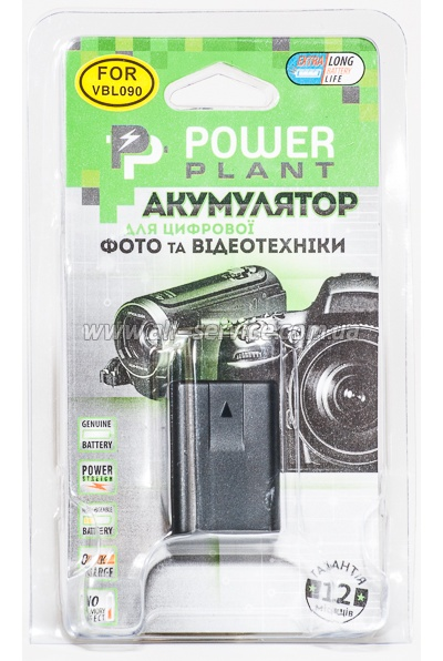 Аккумулятор PowerPlant Panasonic VW-VBL090 (DV00DV1342)