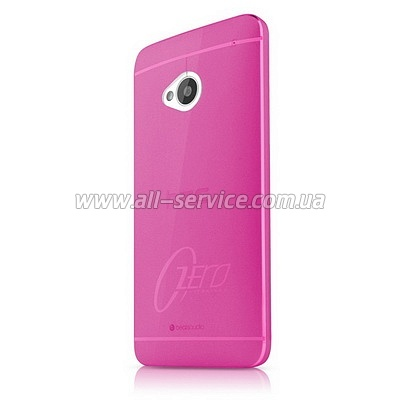 Чехол ITSKINS ZERO.3 for HTC One (M7) Pink (HTON-ZERO3-PINK)