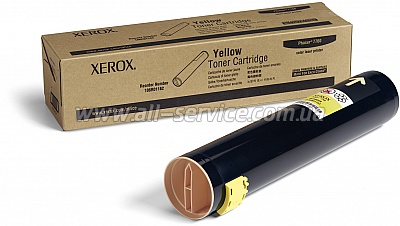 Тонер картридж Xerox PH7760 Yellow (106R01162)
