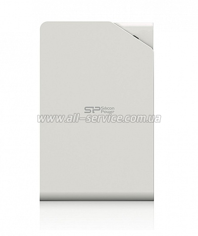 Винчестер 500GB SILICON POWER Stream S03 USB 3.0 White (SP500GBPHDS03S3W)