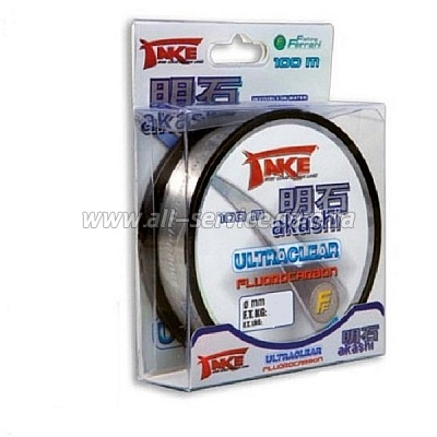 Леска Lineaeffe Take AKASHI Fluorocarbon 100м. 0.35мм  FishTest 13.00кг  Made in Japan (3042235)