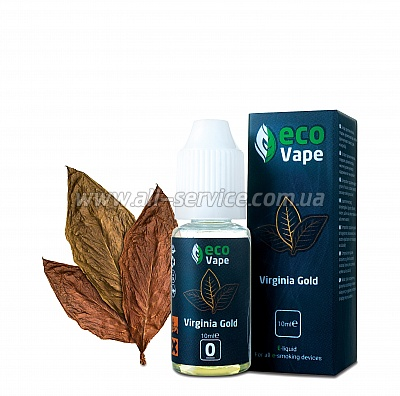 Жидкость ECO Vape Virginia Gold 3 мг/мл