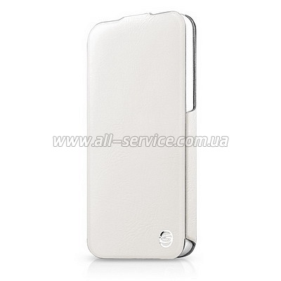 ����� ITSKINS Plume Precious for iPhone 5/5S/SE White/Silver (APH5-FETHR-WHSL)