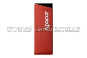 Флешка 4Gb APACER AH130 RED (AP4GAH130R-1)