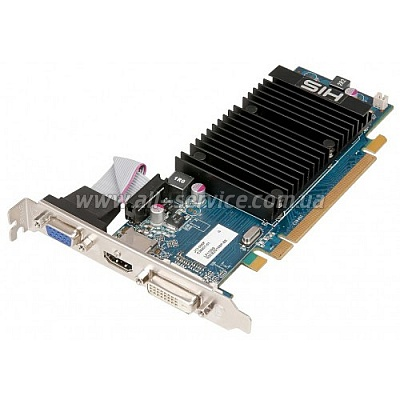 Видеокарта HIS RHD6450 1G DDR3  PCIe w/HDMI (H645H1G)