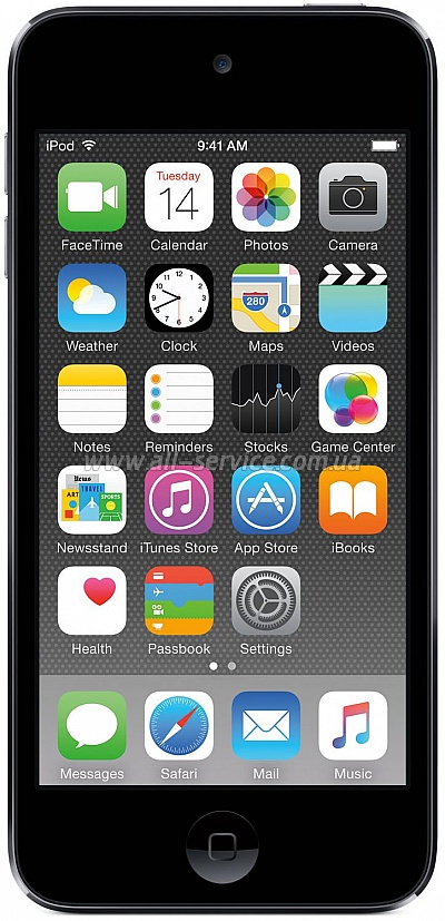 MP3/MPEG4 плеер Apple A1574 iPod Touch 16GB Space Gray (MKH62RP/A)