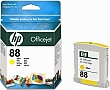 Картридж HP №88 Officejet Pro K550 Yellow 9ml C9388AE