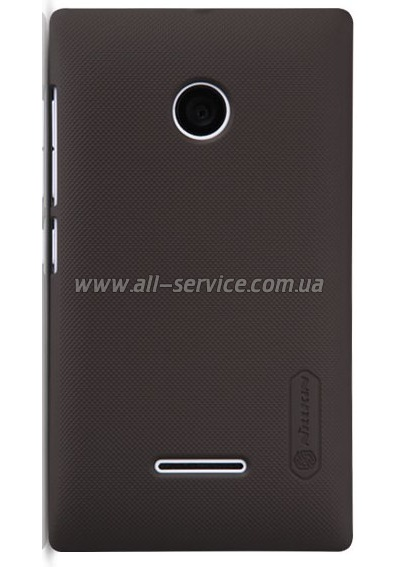 Чехол NILLKIN Microsoft Lumia 532 - Super Frosted Shield Black