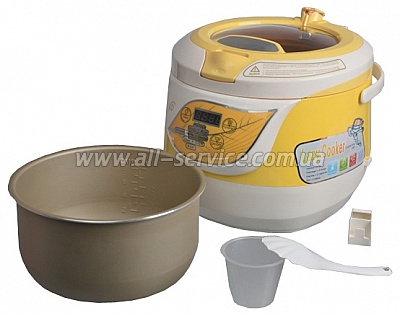 ����������� Hilton LC 3905 Lazy Cooker (Yellow)