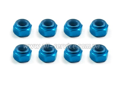 (02191) M3 Purple Alum Nut 8P