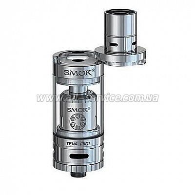 Атомайзер Smok TFV4 Mini Full Kit Stainless (SMTFV4MFKSL)