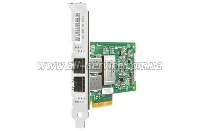 Контроллер HP 82E 8Gb Dual-port PCI-e FC HBA (AJ763B)
