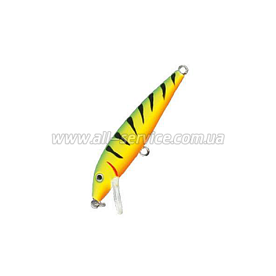 ������ Nomura Floater Minnow 30�� 2,4��. ����-168 (GREEN YELLOW RED) (NM60116803)