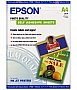 Бумага Epson A4 Photo Quality Self Adhesive Sheet, 10л. C13S041106