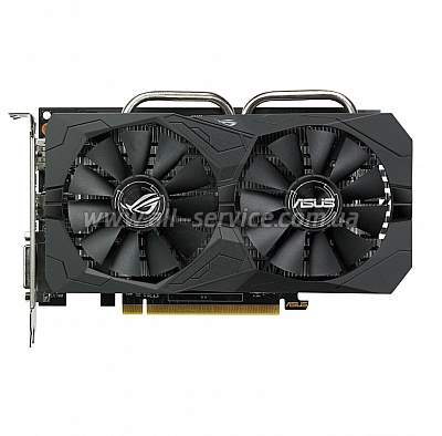 Видеокарта ASUS AMD PCI-E STRIX-RX460-O4G-GAMING (90YV09L3-M0NA00)