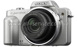 Цифровой фотоаппарат Sony Cyber-Shot H3 Silver (DSC-H3S)