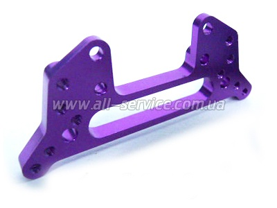 (02159) Purple Alum Rear Shock Tower 1P