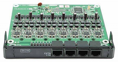 Плата расширения Panasonic KX-NS5172X для KX-NS500, 16-port Digital Extension Card