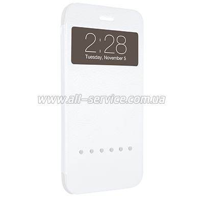 Чехол OZAKI O!coat Hel-ooo iPhone 6 L White (OC588WH)