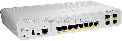 Коммутатор Cisco Catalyst 2960C  (WS-C2960CG-8TC-L)