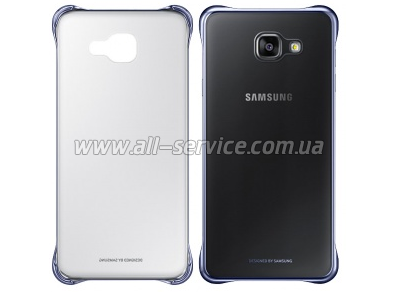 Чехол Samsung Clear Cover EF-QA310CBEGRU Black для Galaxy A3/2016