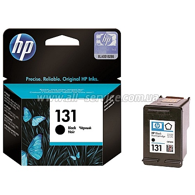 Картридж HP №131 Black DJ 5743/ 6543/ 6843/ PS8153/ 8453 (C8765HE)