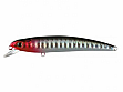 Воблер Nomura Hiro Minnow 90мм 7.5гр. цвет-004 (BLACK RED SILVER) (NM60300409)