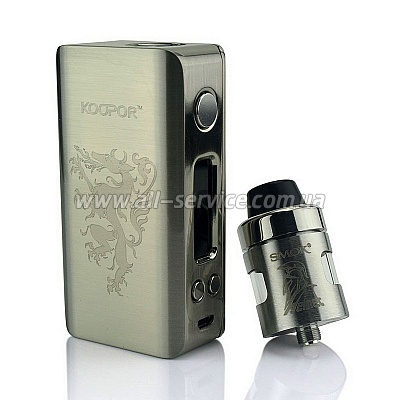 Стартовый набор SMOK Koopor Knight Kit Silver (SMOKNGSL)