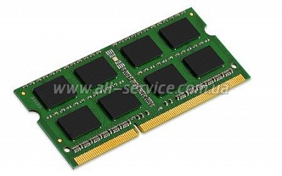 Память Kingston DDR3 1600 8GB для Apple iMac 2011-2012, Mac Book Pro  2012, SO-M (KCP316SD8/8)