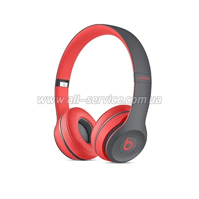 Наушники Beats Solo2 Siren Red (MKQ22ZM/A)