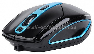 Мышь A4Tech G11-590FX Black/Blue Li-Battery