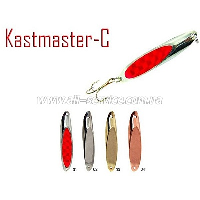 Блесна Fishing Roi  Kastmaster-C 15гр. 6см. цвет-03 (C006-3-03)
