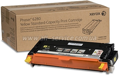�������� ��������� 106R01390 Xerox PH 6280 Yellow